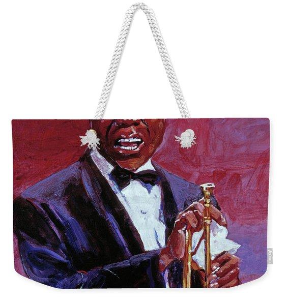 Pops Armstrong Weekender Tote Bag