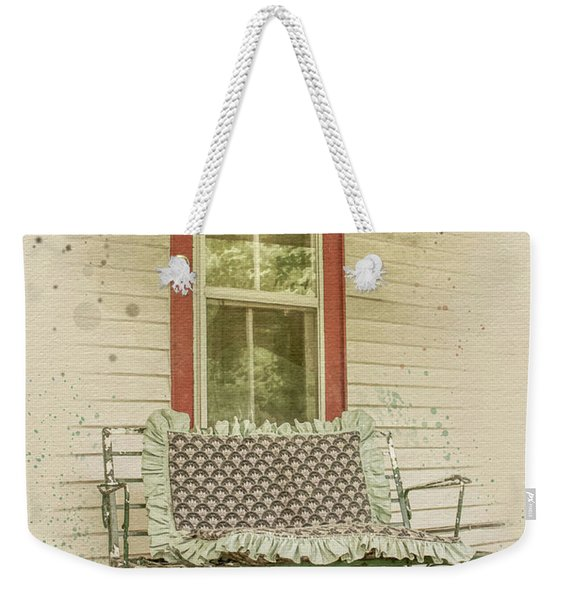Porch Chair Weekender Tote Bag