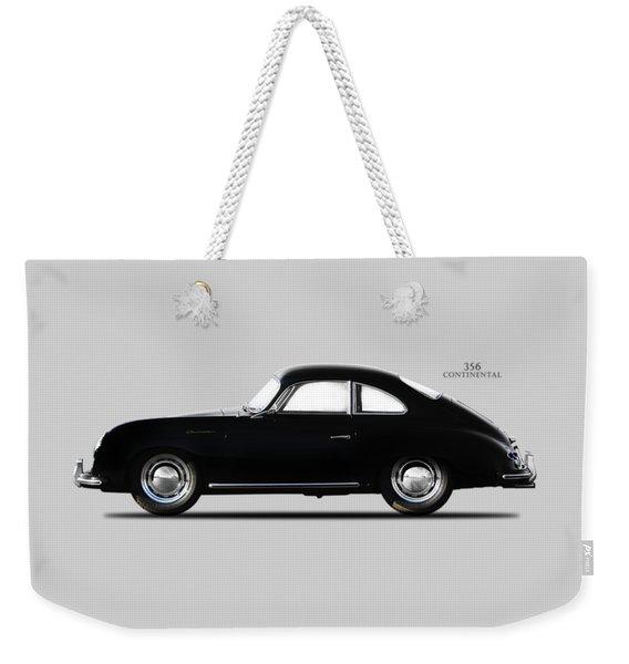 Porsche 356 Continental 1955 Weekender Tote Bag