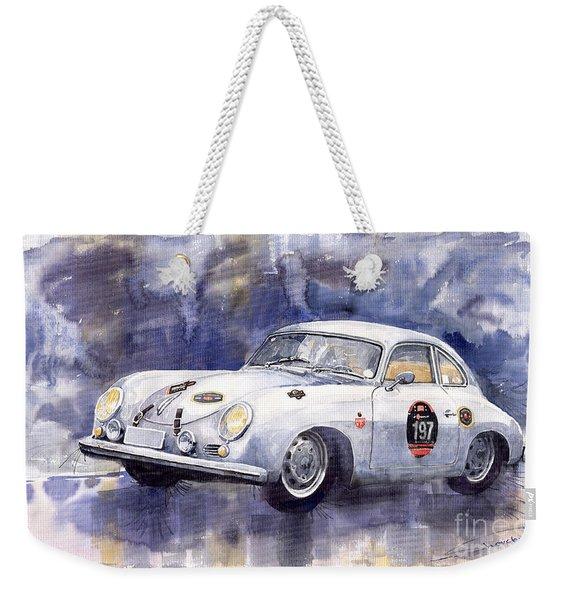 Porsche 356 Coupe Weekender Tote Bag
