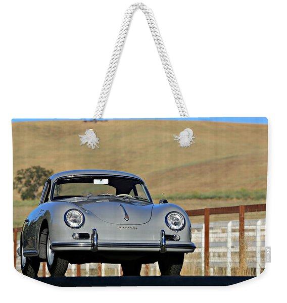 Porsche 356a European Weekender Tote Bag