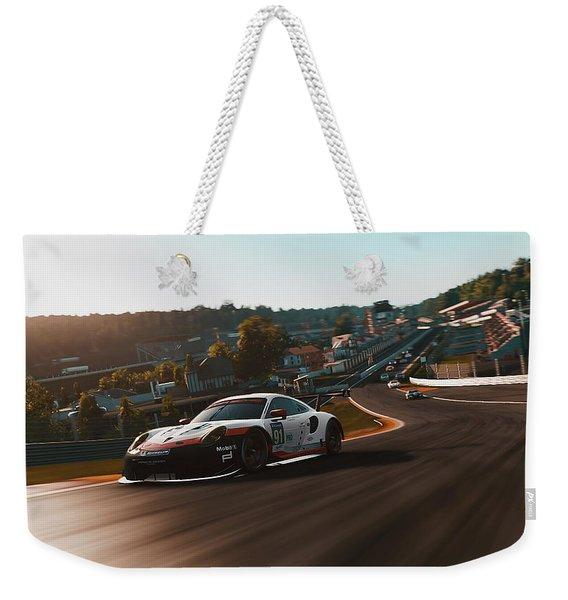 Porsche 911 Rsr, Spa-francorchamps - 33 Weekender Tote Bag