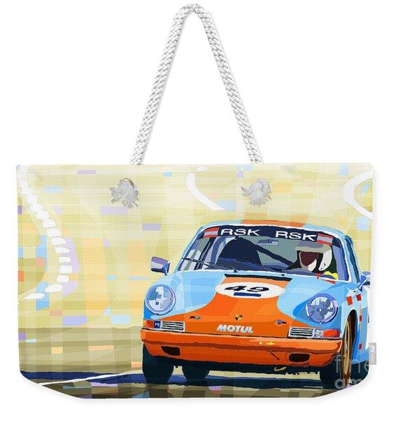 Porsche 911 S  Classic Le Mans 24  Weekender Tote Bag