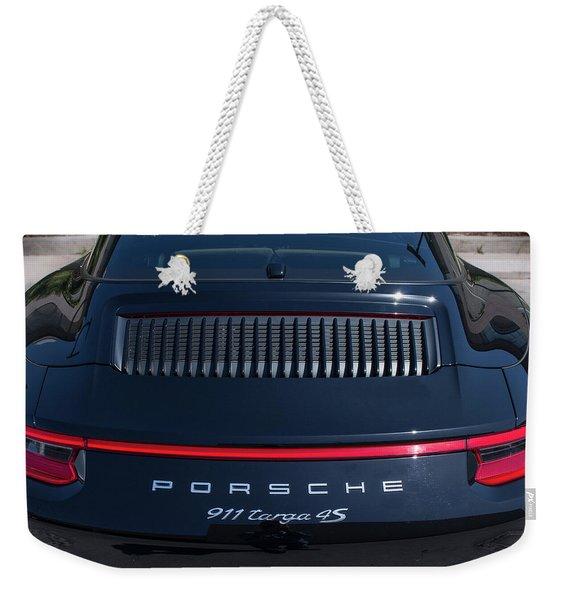 Porsche 911 Targa 4s Weekender Tote Bag