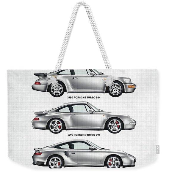 Porsche 911 Turbo Evolution Weekender Tote Bag