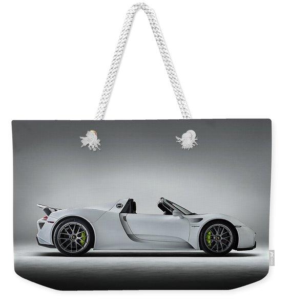Porsche 918 Spyder Weekender Tote Bag