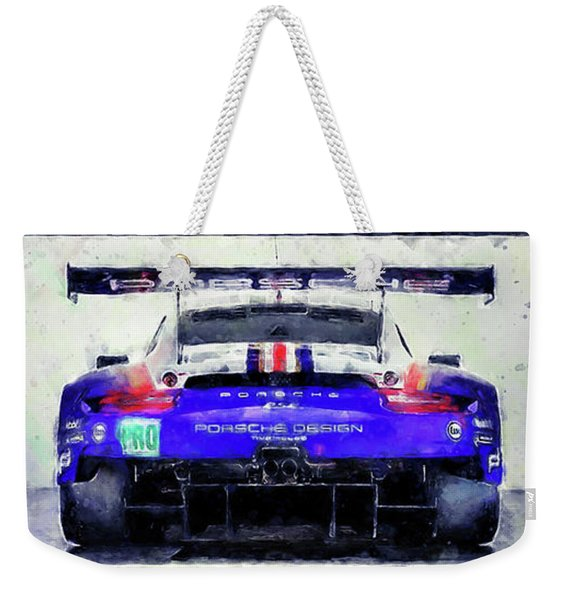 Porsche Rsr Le Mans 2018 - 02 Weekender Tote Bag