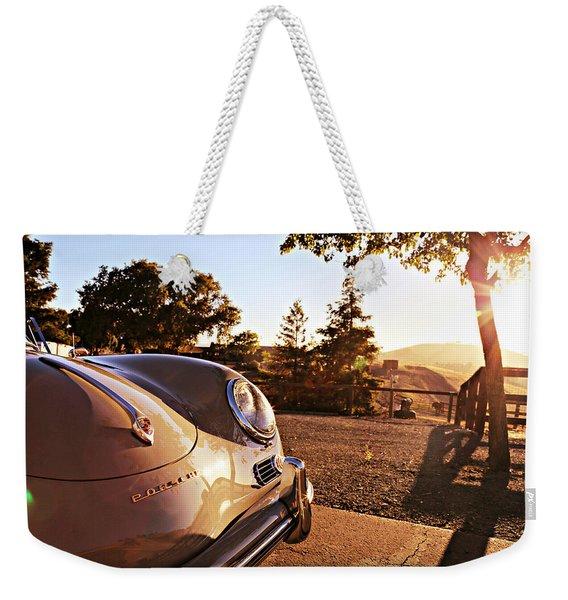Porsche Sundown Weekender Tote Bag