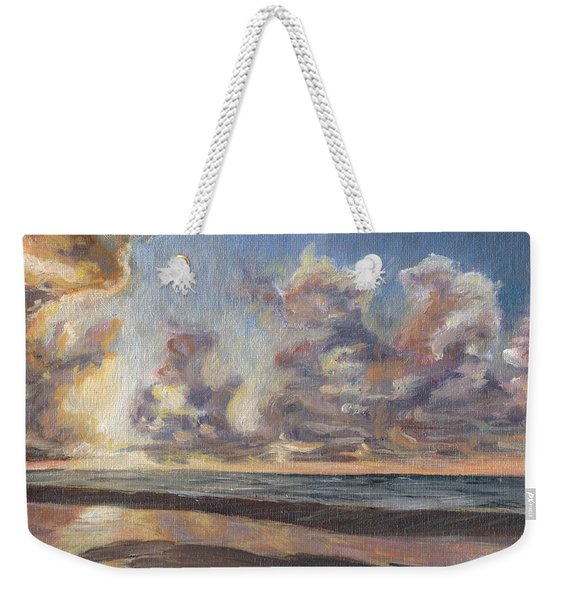 Port Aransas Sunrise Weekender Tote Bag