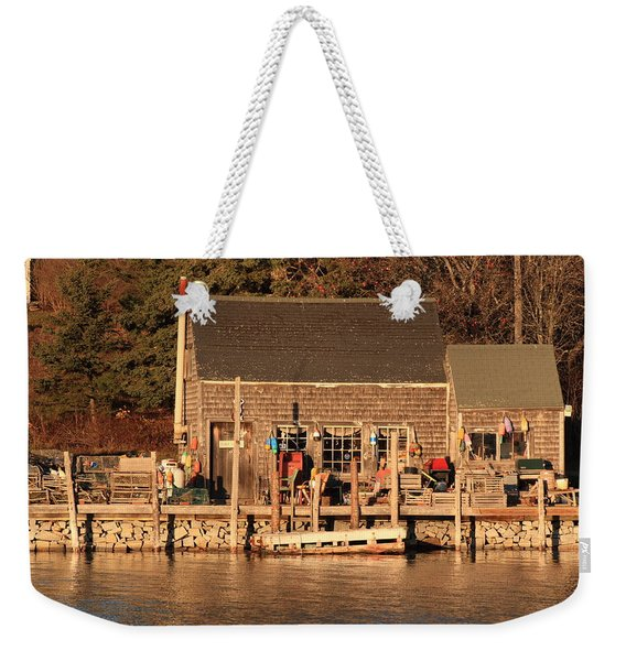 Port Clyde Life 2 Weekender Tote Bag