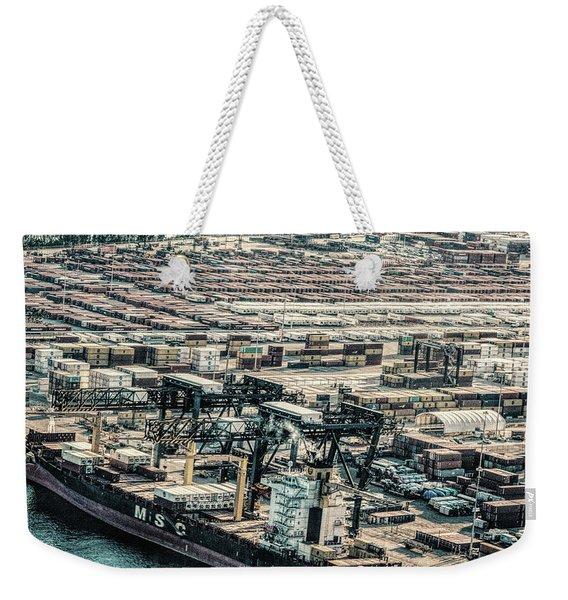 Port Everglades 2 Weekender Tote Bag