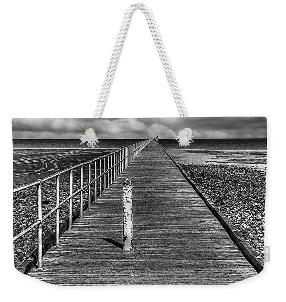Port Germein Long Jetty Weekender Tote Bag