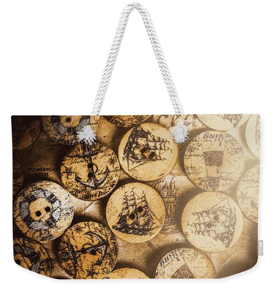 Port Of Corks At The Old Sail Tavern Weekender Tote Bag
