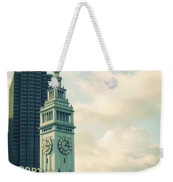 Port Of San Francisco Weekender Tote Bag