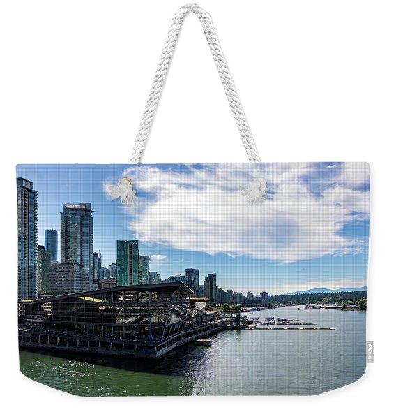Port Of Vancouver Weekender Tote Bag