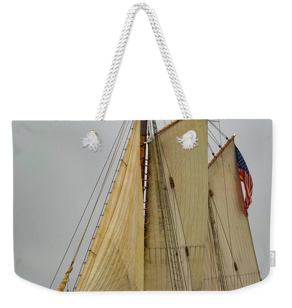 Port Side Weekender Tote Bag