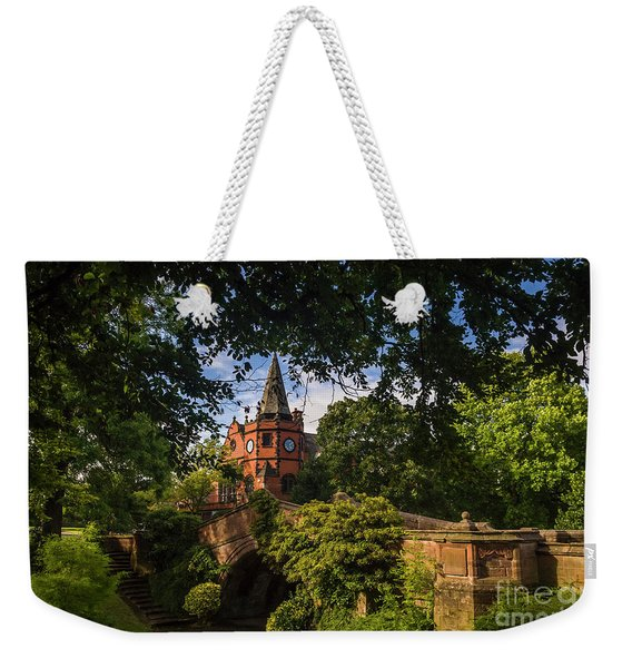 Port Sunlight Village In Summer Weekender Tote Bag