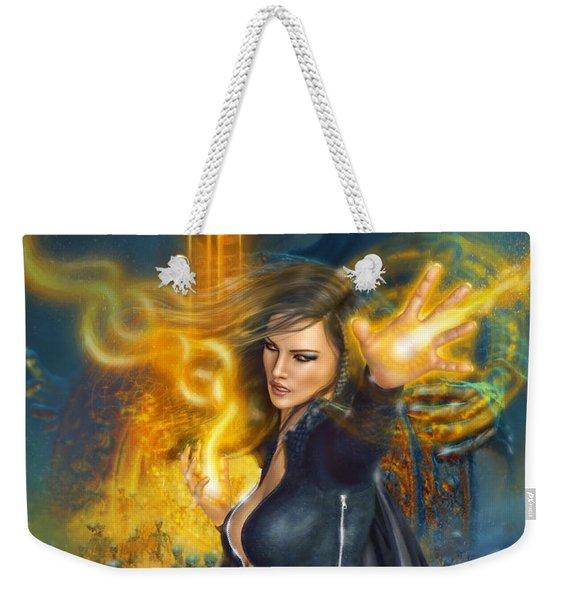 Portal Magician Weekender Tote Bag