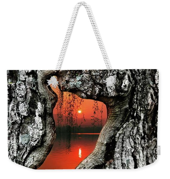 Portal To Another World Weekender Tote Bag
