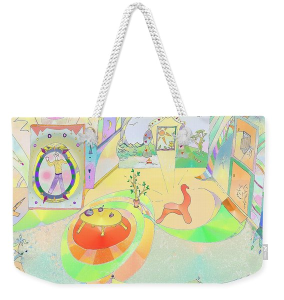 Portals And Perspectives Weekender Tote Bag