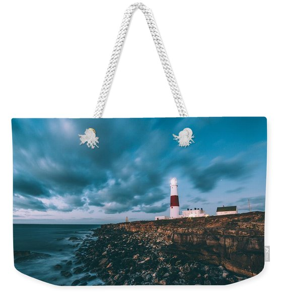 Portland Bill Dorset Weekender Tote Bag