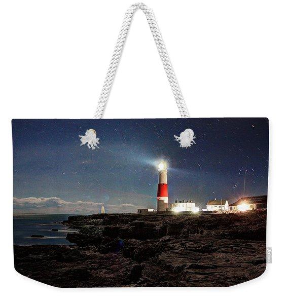 Portland Bill Lighthouse Uk Weekender Tote Bag