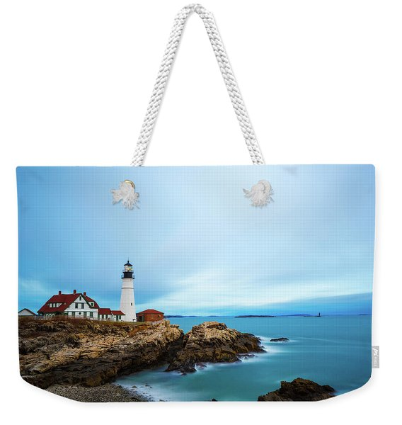 Portland Head Light 1 Weekender Tote Bag