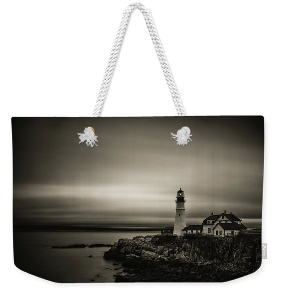 Portland Head Light 3 Weekender Tote Bag