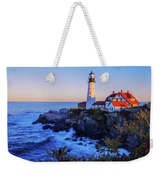 Portland Head Light II Weekender Tote Bag