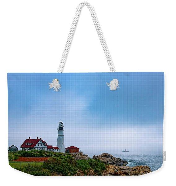 Portland Head Lighthouse Weekender Tote Bag