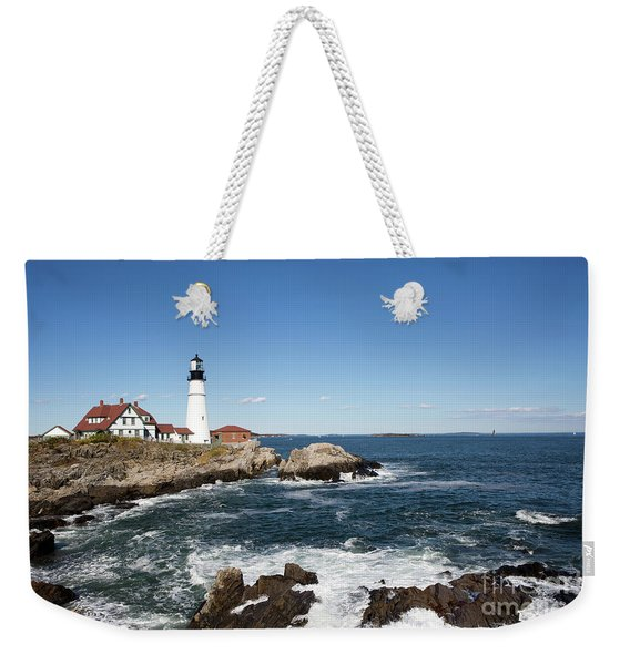 Portland Head Lighthouse Maine Weekender Tote Bag