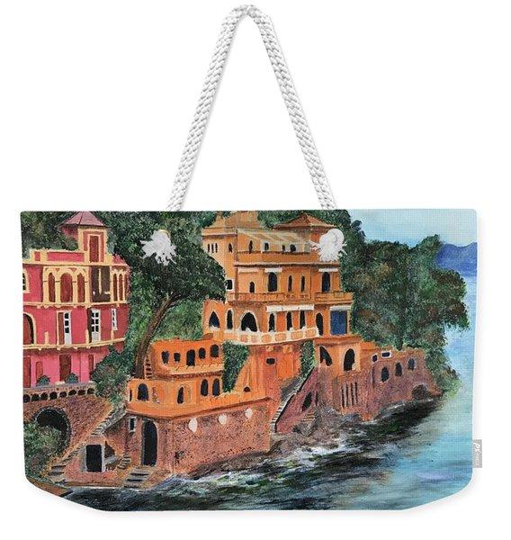 Porto Fino Weekender Tote Bag