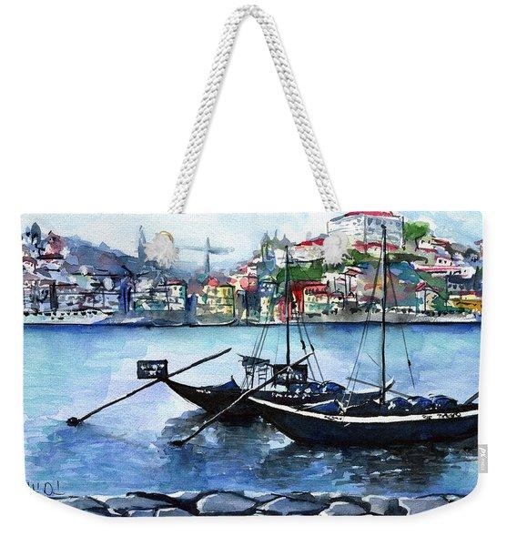Porto Rabelo Boats Weekender Tote Bag