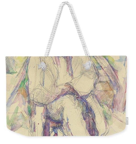 Portrait De Vallier Weekender Tote Bag