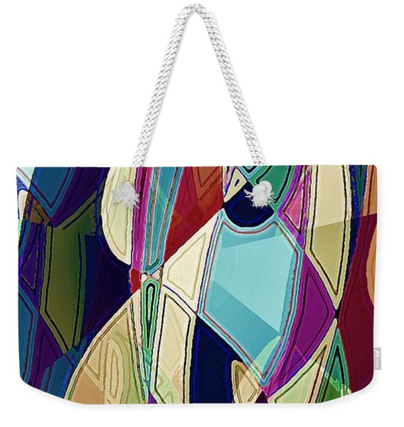 Portrait Of A Friend Weekender Tote Bag