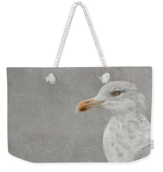 Portrait Of A Gull Weekender Tote Bag