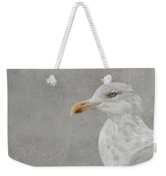 Portrait Of A Gull Weekender Tote Bag