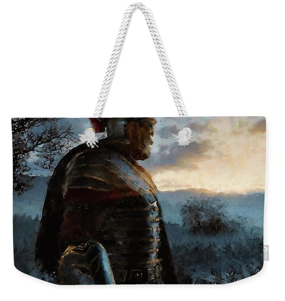 Portrait Of A Roman Legionary - 34 Weekender Tote Bag
