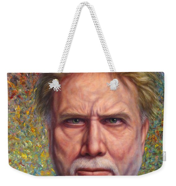 Portrait Of A Serious Artist Weekender Tote Bag