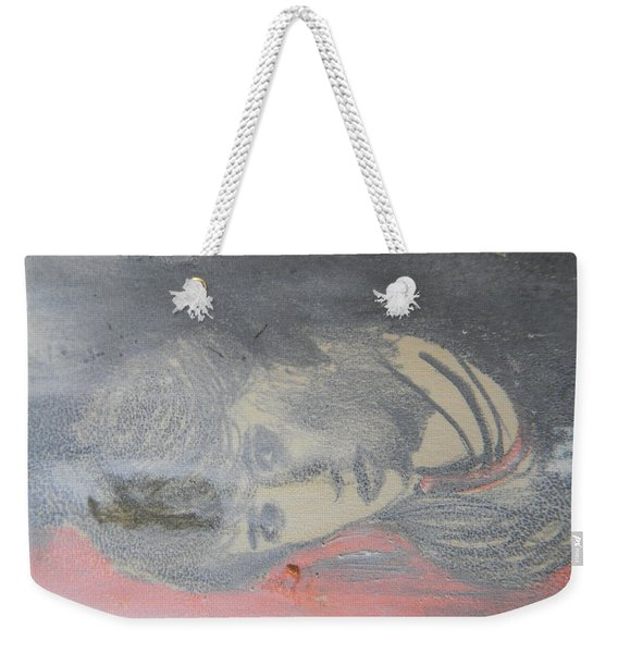 Portrait Of A Theatre Actress Weekender Tote Bag