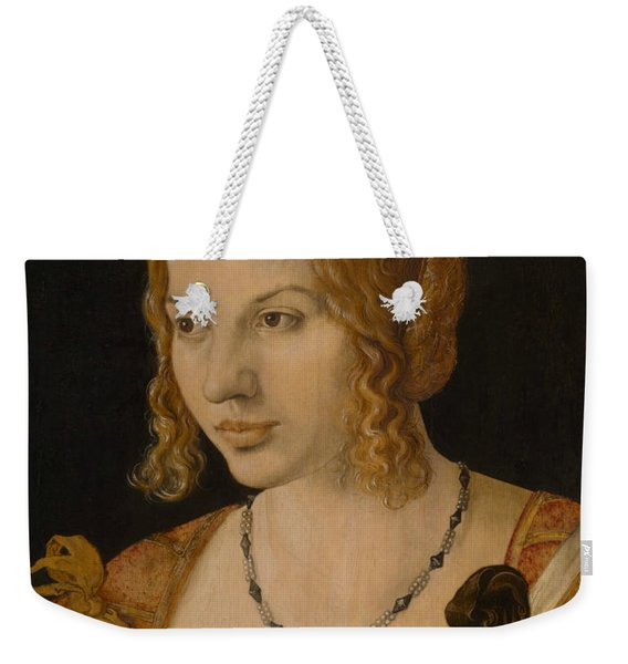 Portrait Of A Young Venetian Woman Weekender Tote Bag