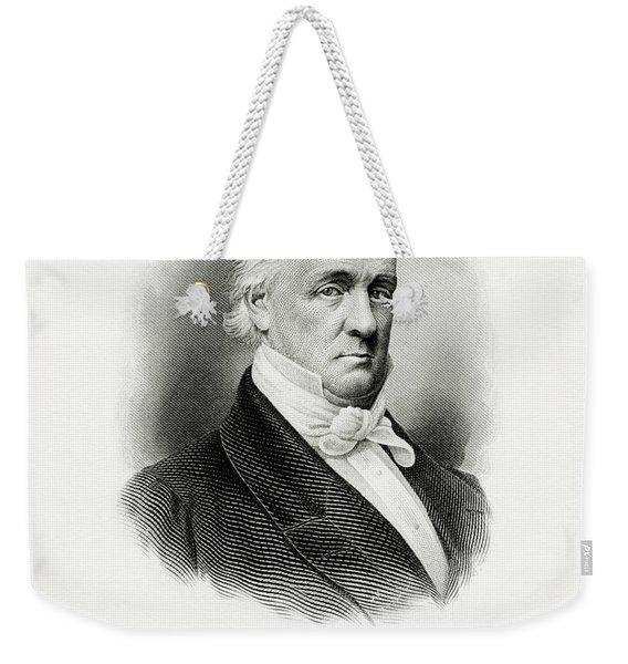 portrait of Buchanan as President Weekender Tote Bag