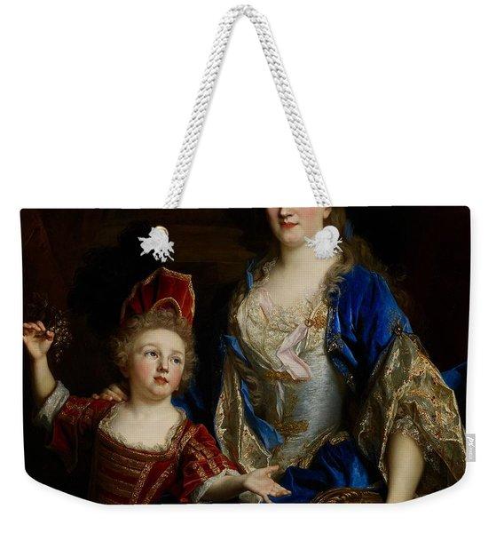 Portrait Of Catherine Coustard Weekender Tote Bag