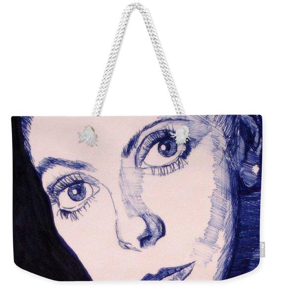 Portrait Of Catherine Weekender Tote Bag