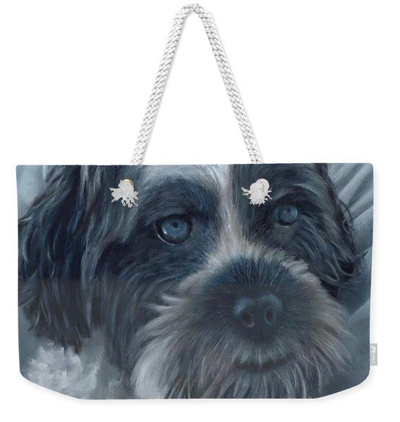 Portrait Of Charley Weekender Tote Bag