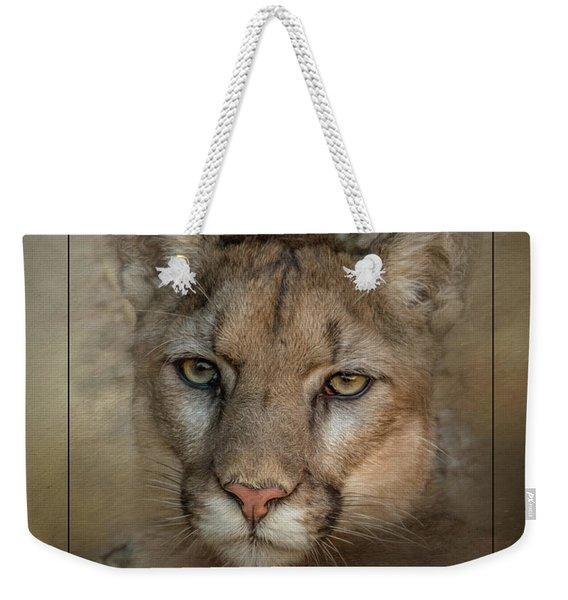 Portrait Of Cruz Weekender Tote Bag