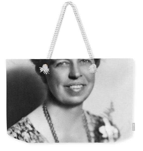 Portrait Of Eleanor Roosevelt Weekender Tote Bag