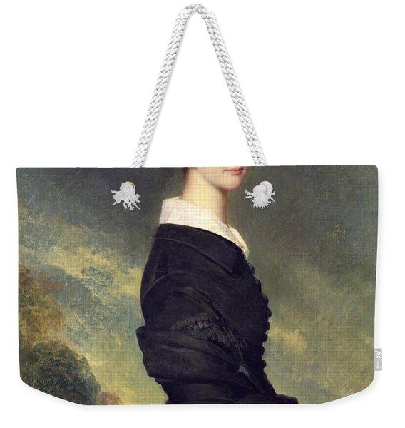 Portrait Of Francisca Caroline De Braganca Weekender Tote Bag