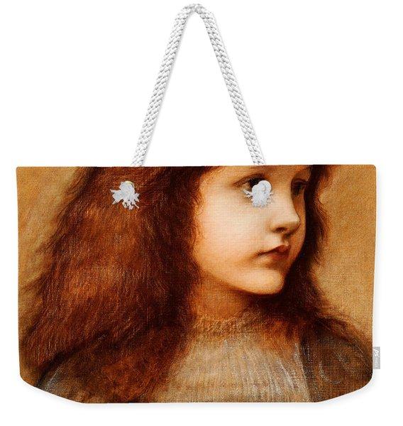 Portrait Of Gertie Lewis Weekender Tote Bag