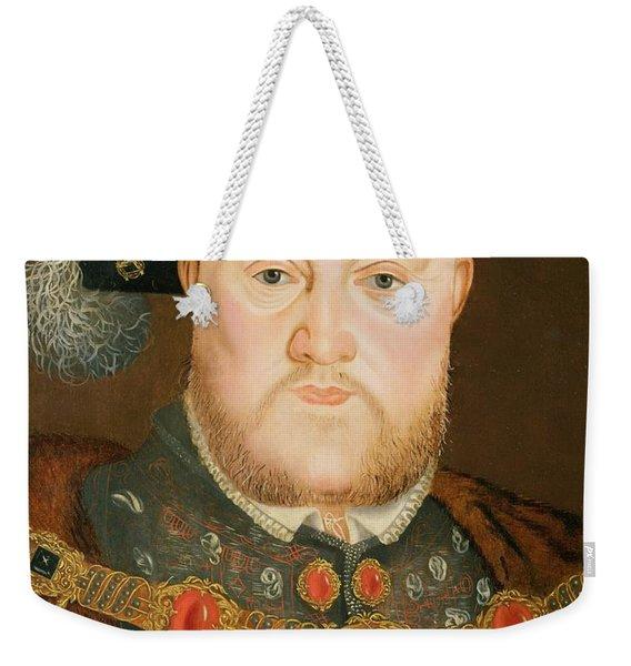 Portrait Of Henry Viii Weekender Tote Bag